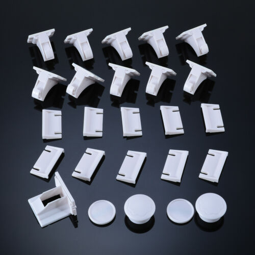 5//12PCS Baby Safety Magnetic Cabinet Locks Invisible Child Proof Cupboard Drawer