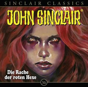DIE-RACHE-DER-ROTEN-HEXE-JOHN-SINCLAIR-CLASSICS-FOLGE-36-CD-NEU