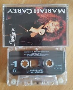MARIAH CAREY-MTV UNPLUGGED Cassette Tape Emotions Vision of Love Ill be There