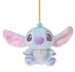 Disney Stitch Plush doll Key chain Sherbet Color Japan import NEW Disney Store