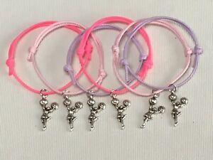 Cheerleader  Bracelets Party Favors 10 Pieces