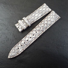 Blancpain White Python 18mm EXOTIC Watch Strap NOS Unused Handmade SWISS Rare