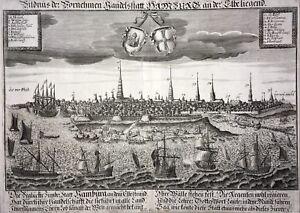 Bildnus Le Apporter Des échanges Au Lieu De Hambourg-david Funk 1680-original-rar-afficher Le Titre D'origine Lfkrvwp7-10110613-306290962