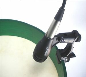 NEW-BODHRAN-MICROPHONE-amp-CLAMP-KIT-ALSO-FOR-SNARE-OR-HAND-DRUM