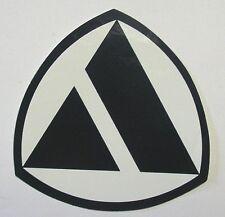 VECCHIO ADESIVO / Old Sticker AUTO AUTOBIANCHI STEMMA (cm 10 x 10)