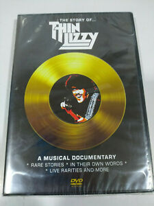 Thin Lizzy The Story Of A Music Documentario DVD Regione All Inglese Nuovo