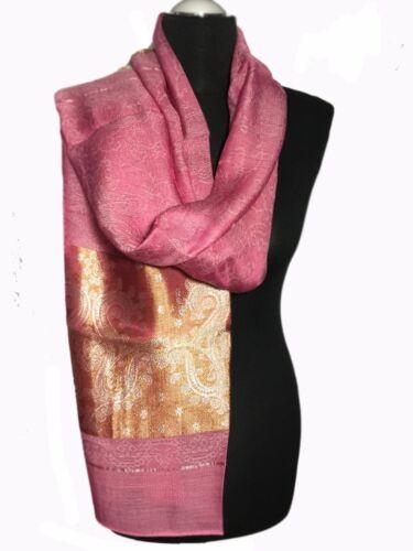Pashmina Damen Herren Schal Stola Schultertuch Bone Hijab Kopftuch EST 379-6
