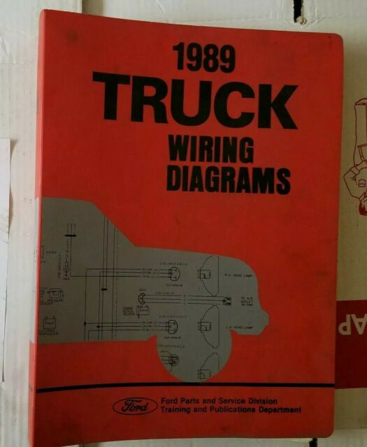 1989 Ford Truck Wiring Diagrams F150