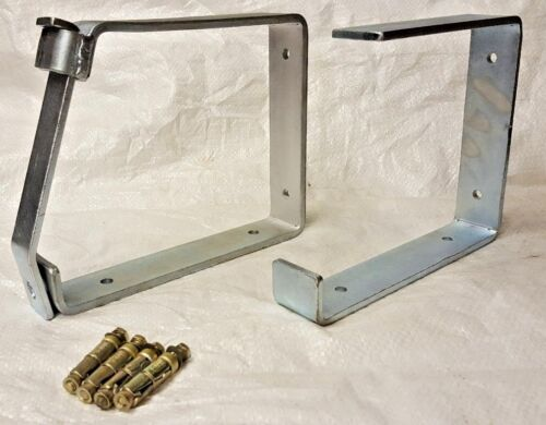 LOCKABLE LADDER BIKE STORAGE BRACKETS RACKS HOOKS Inc WALL BOLTS HEAVY DUTY