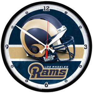 NFC CHAMPIONS Los Angeles Rams Round Wall Clock 12.75