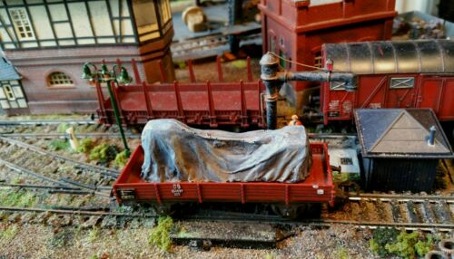 High detailed resin casting cover load  By R/&M suit HO OO gauge