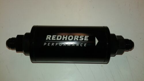 8an 100 Micron 500psi Rating Redhorse In-Line Race Fuel Filter