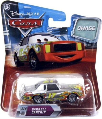 METALLIC DARRELL CARTRIP #114 CHASE! DISNEY PIXAR CARS 1 2 3 DIECAST 1:55