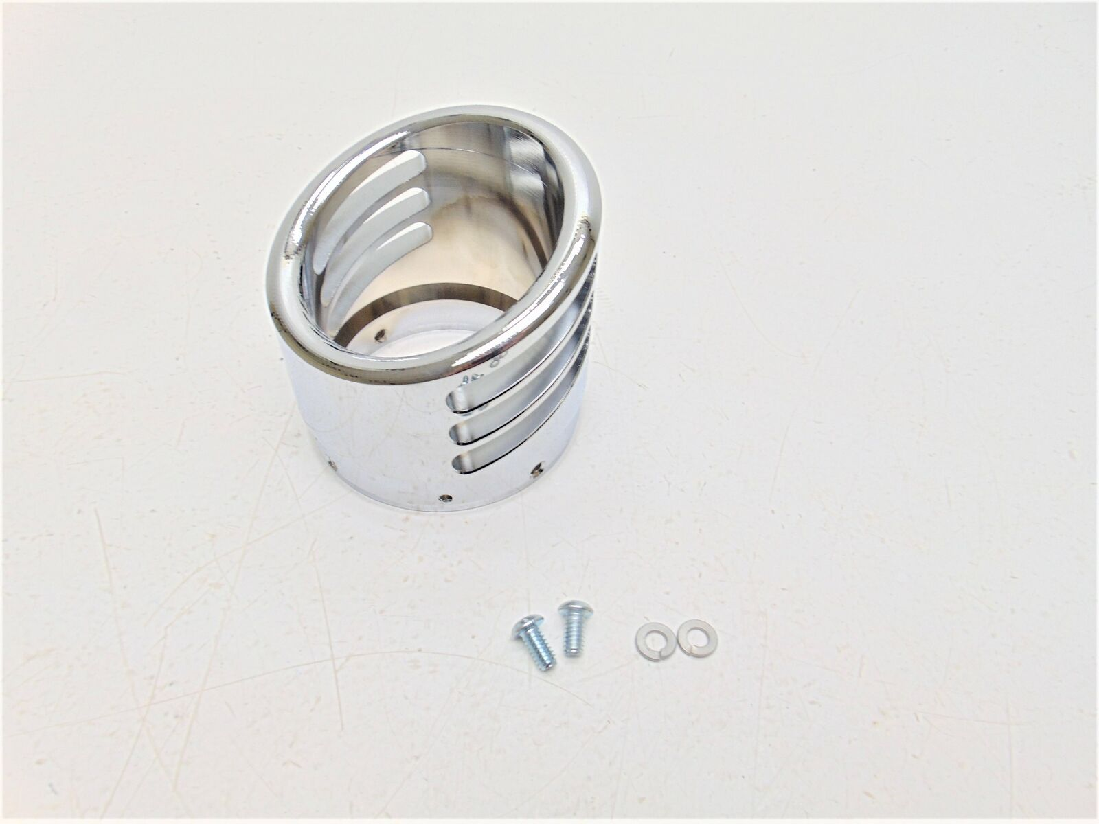 Freedom AC00056 Exhaust End Cap Chrome 4 Racing