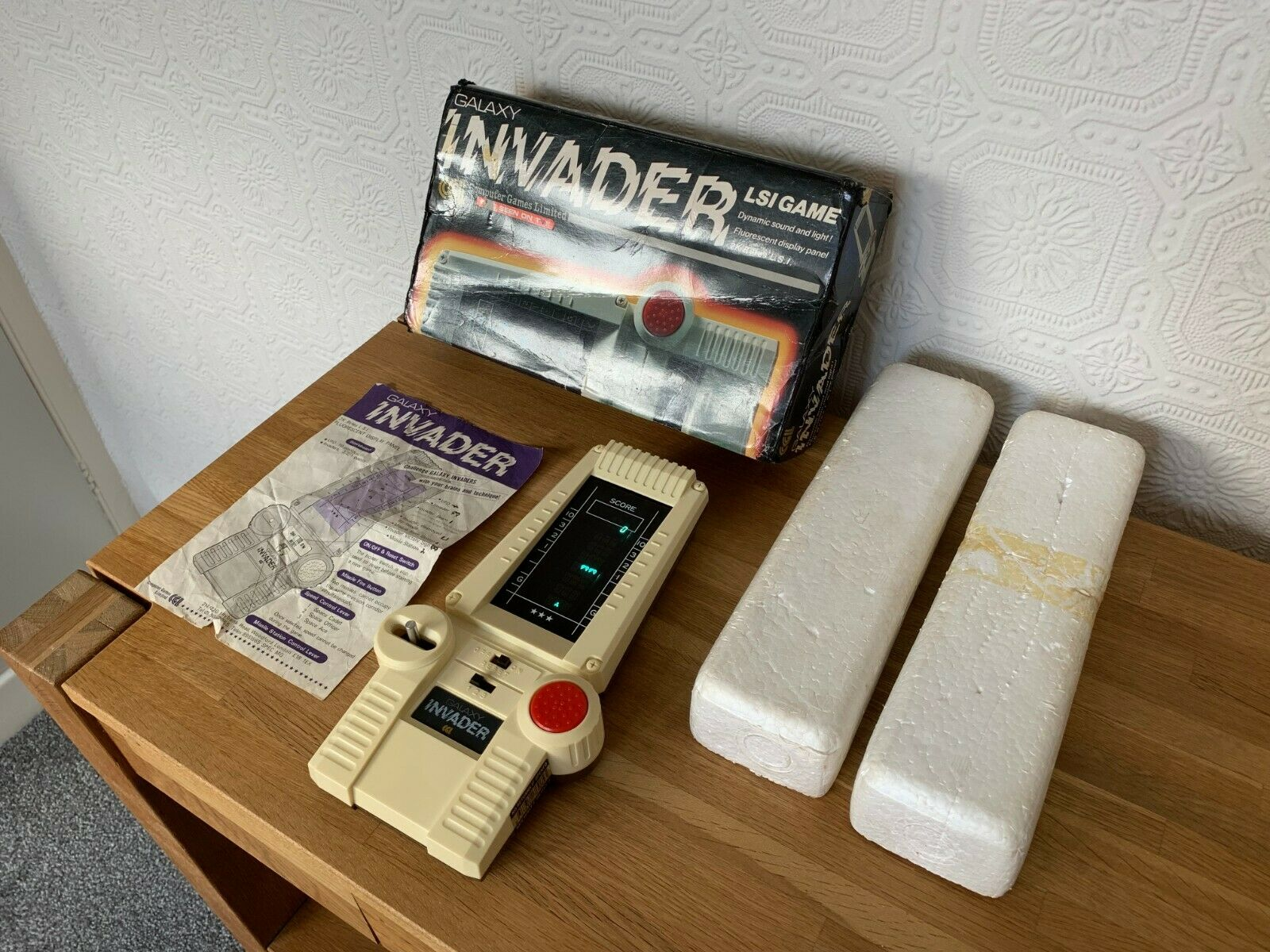 CGL Galaxy Invader Vintage 1978 LSI Handheld Electronic Game - Super Condition.
