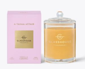 Glasshouse-Tahaa-380g-Soy-Candle-Vanilla-Caramel-TripleScented-Handmade-FreePost