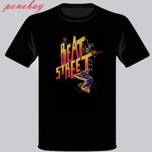 New Beat Street 80 s Américain Drama Film T-Shirt Homme Noir Taille S M L XL 2XL 3XL