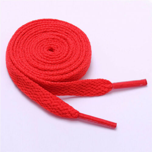 SNEAKER SHOES GYM FLAT COLOURED SHOE LACES SHOELACES BOOTLACES 15 COLOURS