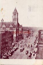 1909 OMAHA, NEB. 16th ST. LOOKING NORTH Hayden Bros. Dry Goods