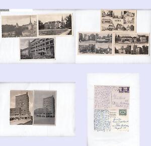 Gera-8-div-Kleinformatkarten-10-025-unterschiedliche-Erhaltung-stampsdealer