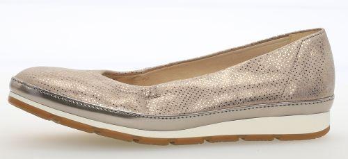 GABOR Modisch COMFORT 82.400.22 Ballerina Damenschuhe Modisch GABOR gold metallic NEU 3c55e7