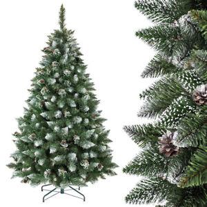 weihnachtsbaum kiefer natur weiss beschneit tannenbaum k nstlicher christbaum ebay. Black Bedroom Furniture Sets. Home Design Ideas