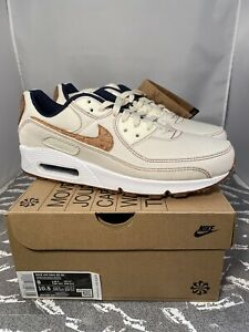 Details about Nike Air Max 90 SE Cork Coconut Milk DD0385-100 Men's Size 9 FREE SHIPPING