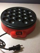 Japanese TAKOYAKI Grill pan maker cooking plate stove machine Octopus ball