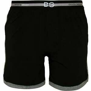 grises ribetes negros Dolce algodᄄᆴn hombre elᄄᄁsticos gimnasia de Shorts para Jersey de con Gabbana wqO7HR1