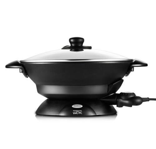 1 of 1 - Sunbeam WW7500D Professional Non-stick Wok 7.5L - Steaming Rack included