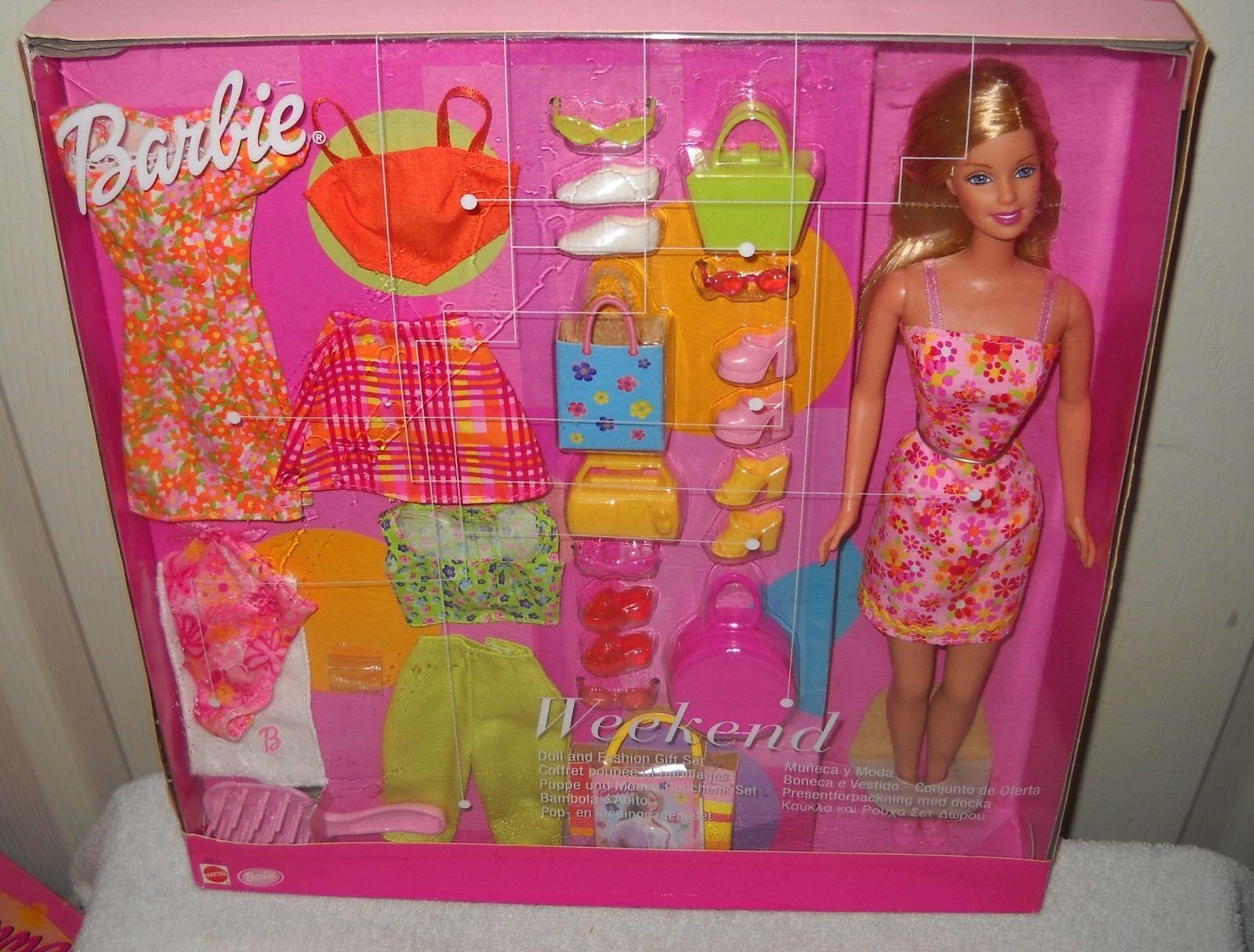 En Caja Original Mattel Barbie Giftset problema exteriores de fin de semana