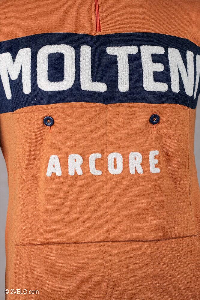 MOLTENI vintage style wool jersey, new, maglia, M maillot, Größe M maglia, 34522b
