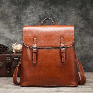 100-Genuine-Leather-Women-039-s-Backpack-Handbag-Shoulder-Bag-Crossbody-Hobo-787
