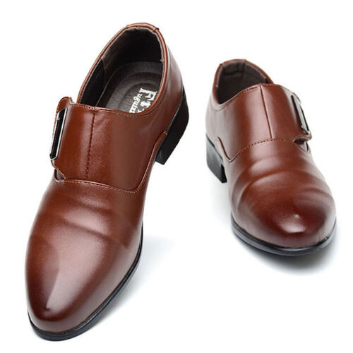 Homme Formel Mariage Casual Chaussures en cuir bout pointu chaussures G