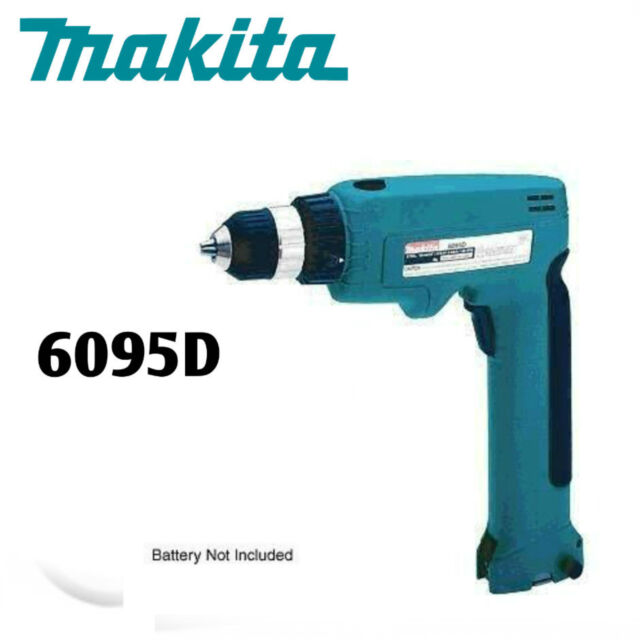 makita cordless drill 6095d battery charger flashlight ml902 with case ebay. Black Bedroom Furniture Sets. Home Design Ideas