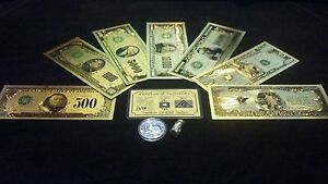 ~BRANDNEW 16Pc.LOT~.999 FINE SILVER $1-$1 MILLION+COIN+SILVER FLAKE~ upo