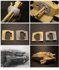 SBS Model 35001 1/35 40/43M Zrinyi Assault Gun Mantlet for Bronco