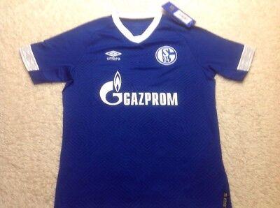 Umbro FC Schalke 04 Away SS in Jersey Uomo
