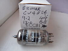 CV4024 12AT7WA BRIMAR BLACK PLATE    NOS  VALVE TUBE  MA13