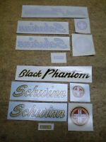 Liquidation Sale Complete Schwinn Phantom Bicycle Water Transfer Decal Set