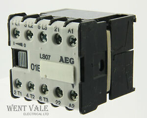 aeg ls07-910-302-023-80 - 16a 01e triple pole mini ... forward reverse contactor wiring diagram aeg ls07 contactor wiring diagram #4