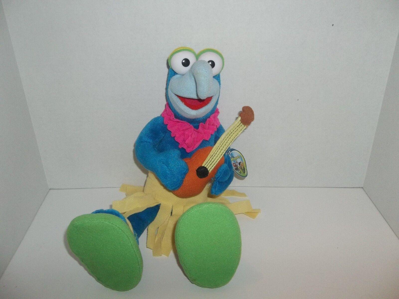 Nanco jim henson muppets hawaiian gonzo plush doll