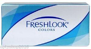 Freshlook colors 2 x 2 Kontaktlinsen Monatlinsen Farbige Kontaktlinsen
