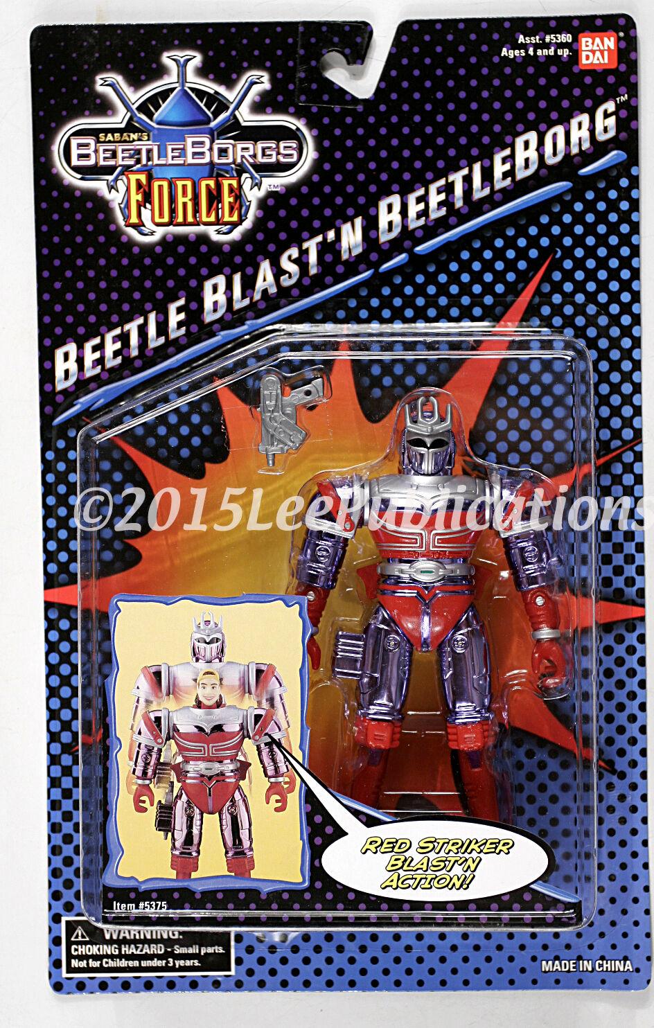Saban's Saban's Saban's BeetleBorg Beetle Blast'n Beetleborgs Force Ban Dai MOSC rare 236cde