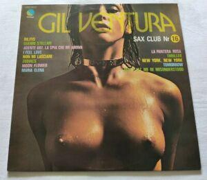 GIL-VENTURA-LP-SAX-CLUB-N-16-VINYL-33-GIRI-1977-ITALY-EMI-3C-054-18297-NM-NM