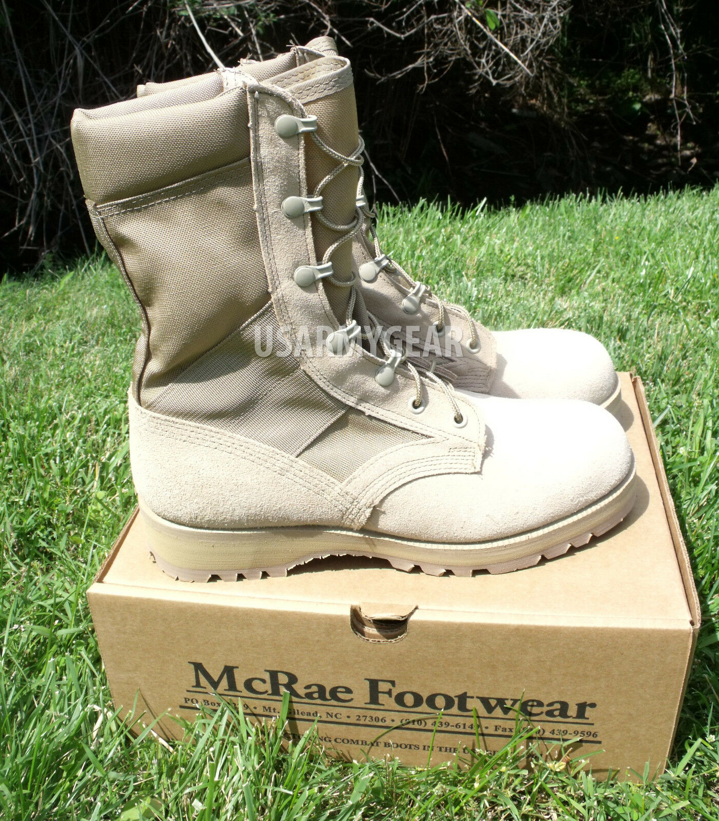 Made in USA Military ACU Desierto Tan Combate de Ejército botas De Trabajo Flight Gamuza Vibram S