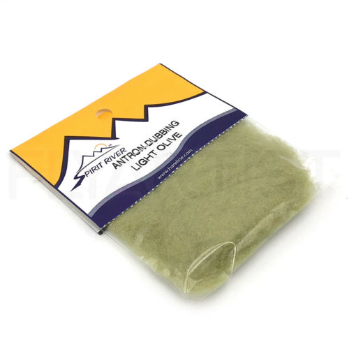 Antron Dubbing-SPIRIT river fly tying material-emergers NYMPHES /& Dry Flies