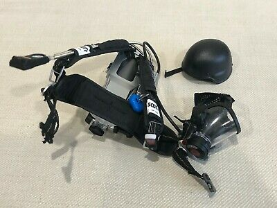 1//6 Scale Toy US Navy Commanding Officer O2 Tank w// Harness /& Oxygen Mask