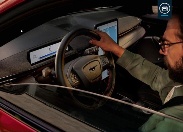 Ford Mustang Mach-E  Extended Range billede 9