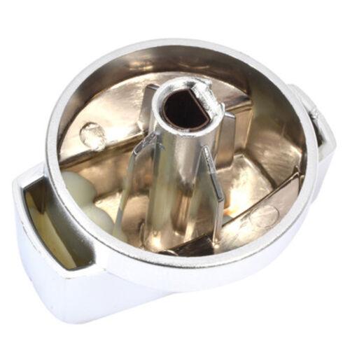 NEW WORLD Genuine Oven Cooker Hob Temperature Control Knob Dial Silver x 6 Knobs